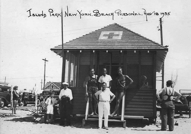 1935 - Beach Staff