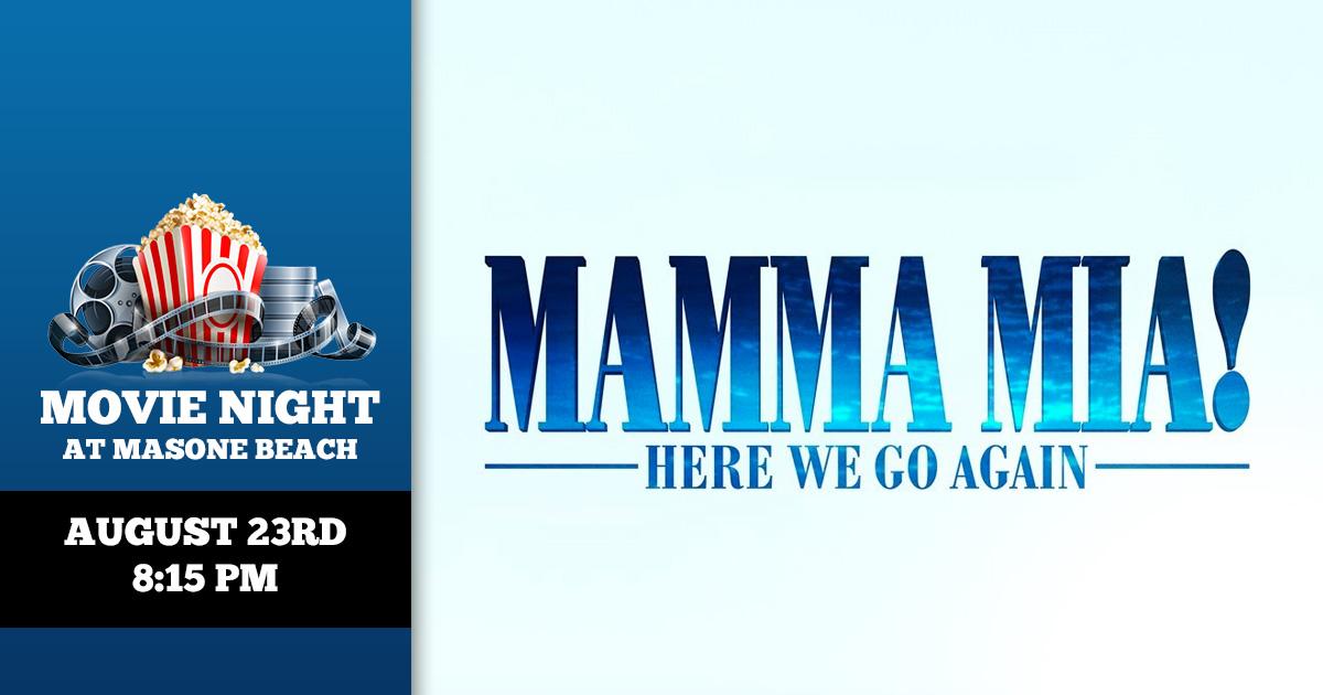Movie Night: Mamma Mia! Here We Go Again