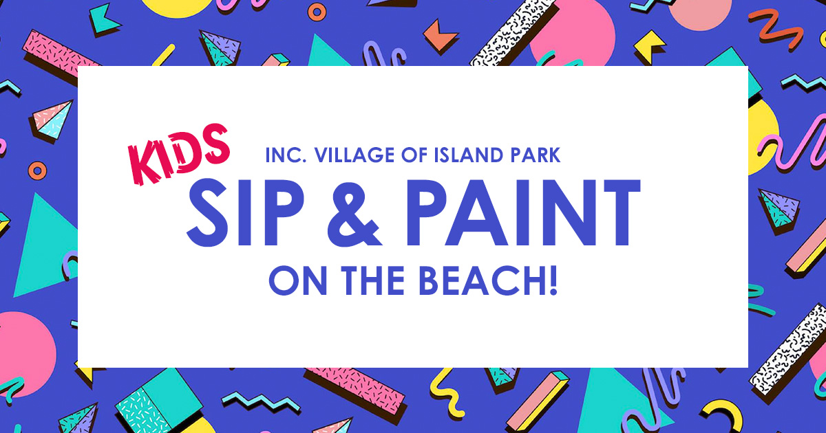 Kids Sip & Paint on Masone Beach
