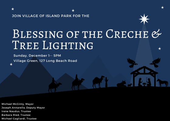 Blessing of the Creche & Tree Lighting