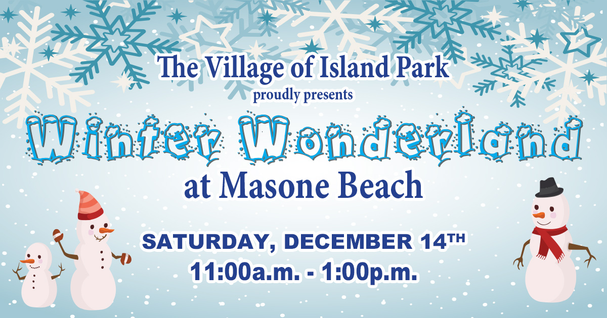 Winter Wonderland at Masone Beach