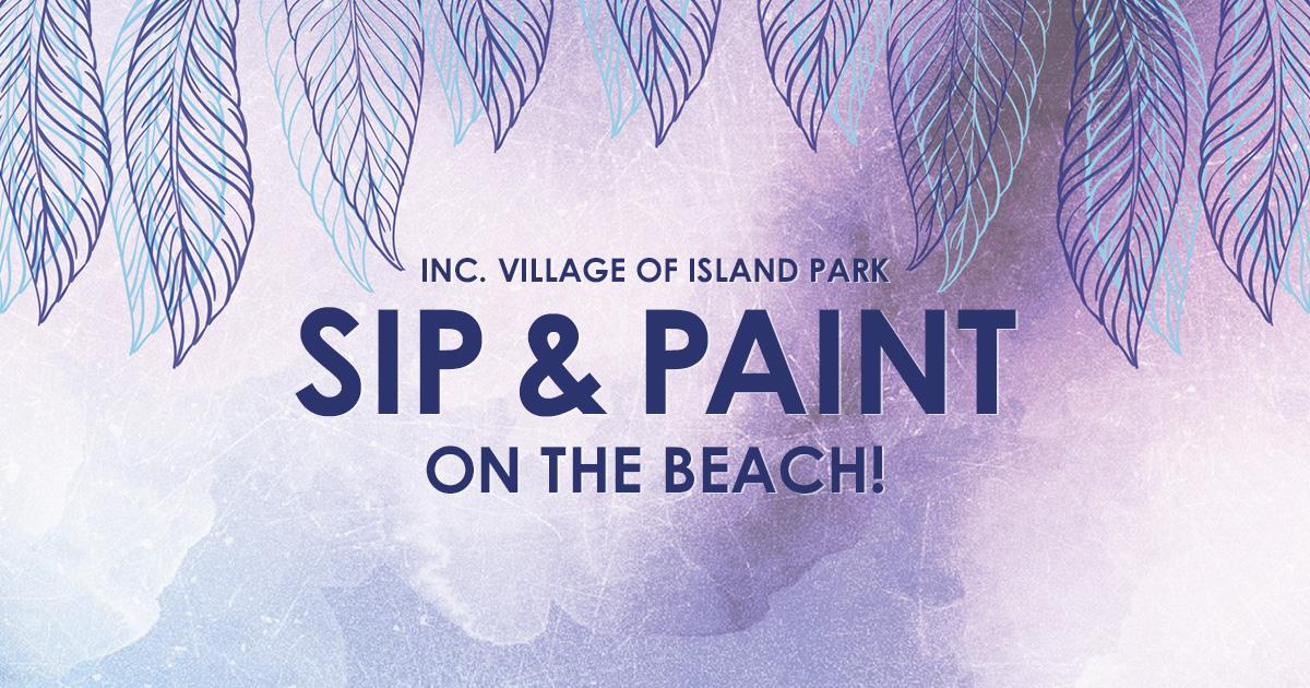 Sip & Paint on Masone Beach
