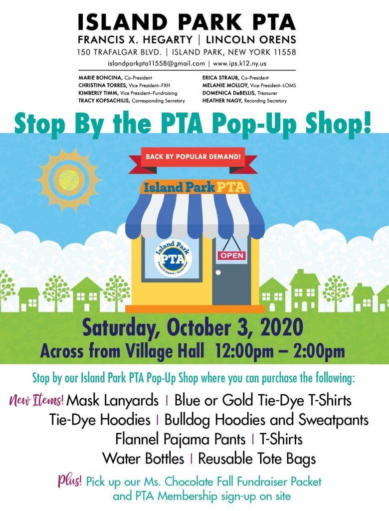PTA Pop-Up Shop Flyer